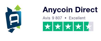 Anycoin Direct Trustpilot avis