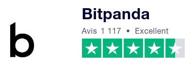 Bitpanda Trustpilot avis